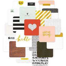 "Everyday Project Life Die-Cut Card Pack 4""x4"" 12 pkg - 2"