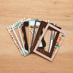 Explore Die-Cut Chipboard Photo Frames - 2
