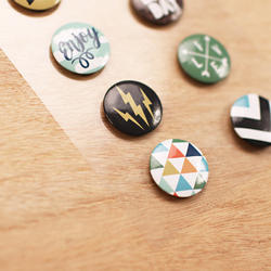 Explore Flair Adhesive Metal Badges - 2
