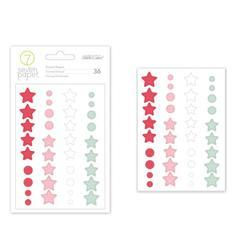 Felix Enamel Shape Stickers - 2
