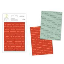Felix Gold Foil Word Stickers - 2