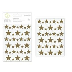 Felix Gold Foiled Chipboard Stickers - 2