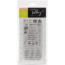 Fitness Planner Clear Stamps - 2