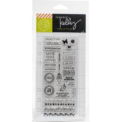 Girl Talk Planner Clear Stamps - 2