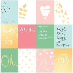 "Happy Things 3""x4""Acetate Cards - 2"