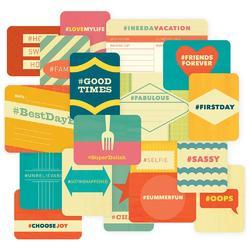 Hashtag Themed Cards 40 pkg - 2