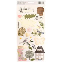 "Heart Of Home Cardstock Stickers 5.5""X11"" 2/Pkg - 2"
