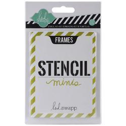 Heidi Swapp 3x4 Mini Stencil Kit - Frames - 2