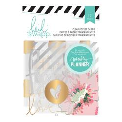 Hello Beautiful Clear Pocket Cards w/Foil - 2