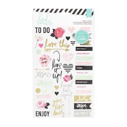 Hello Beautiful Sheer Stickers - 2