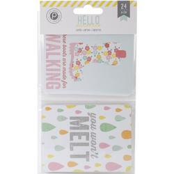 Hello Sunshine Pocket Cards 3x4 24pkg - 2