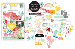 Hello Sunshine Ephemera Die Cuts 136 pkg - 2