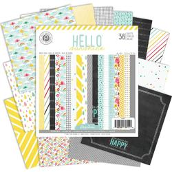 "Hello Sunshine Paper Pad 6""x6"" 36 sheets - 2"