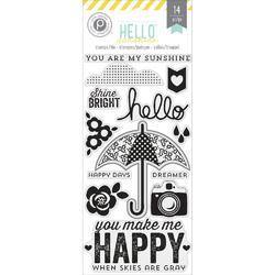 Hello Sunshine Stamps & Die Set 14pcs - 2