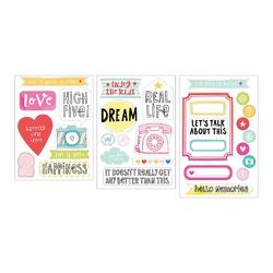 High Five Project Life Chipboard Stickers - 2