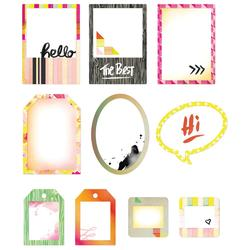 Highline Cardstock Die Cut Frames w/Overlays - 2