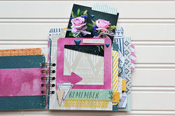 Inked Rose Project Life Journaling Cards 100 pkg - 2