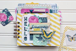 Instagram Albums Made Easy Journaling Cards - Inked Rose - 2