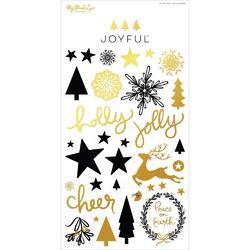 Joyful Puffy Stickers - 2