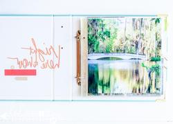 """Stripe Ring Album 8""""x8"""" - 2"""