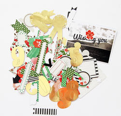 Jubilee Mint Mixed Bag Cardstock Die-Cuts - 2