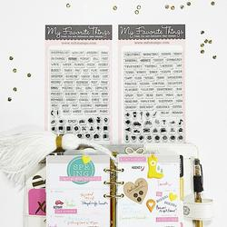 Laina Lamb Designs Organized Life Planner Stamps - 2
