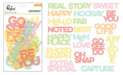 Life Noted Acetate Die-Cuts 20 pkg - 2