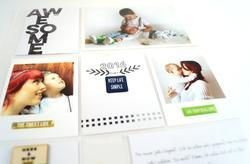 Life Noted Epoxy Stickers - 2