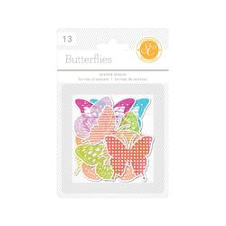 Lemonlush Die-Cut Acetate Shapes 13 pkg - 2