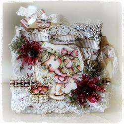 Magnolia - Tilda wApple Wreath - 2