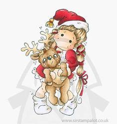 Magnolia - Tilda w/Little Rudolph - 2
