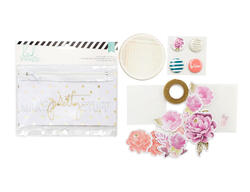 Memory Binder Flea Market Make Pretty Stuff Pouch Kit 37 pcs - 2