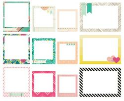 Flea Market - Stitched Fabric Frames - Maggie Holmes - 2