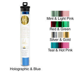 "Minc Reactive Foil Combo Pack 6""x12' Roll – Mint & Light Pink - 2"