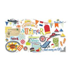 Nautical Die Cut Cardstock Ephemera - 2