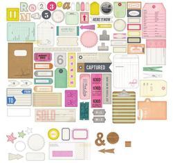 Notes & Things Ephemera Cardstock Die-Cuts 88 pkg - 2