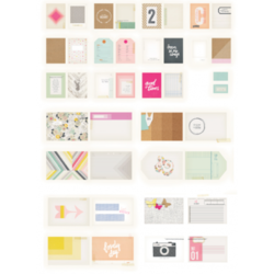 Notes & Things Journaling Cards 20 pkg - 2