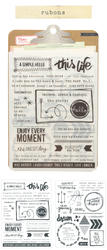 Notes & Things Rub-Ons 2 sheets - 2