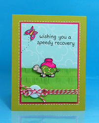 On The Mend Clear Stamps - 2