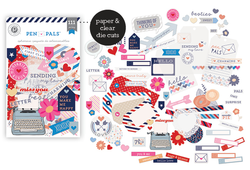 Pen Pals Ephemera Die Cuts 111 pkg - 2