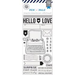 Pen Pals Stamps & Die Set 32pcs - 2