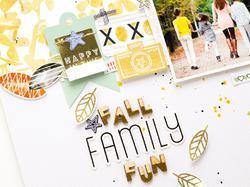 "Escape The Ordinary Foil Wood Stickers 5""X7"" - 2"