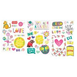 Playful Project Life Chipboard Stickers - 2