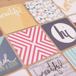 Prismatic Themed Cards 4x4 Project Life® - 2