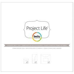 Project Life Big Envelope Pages Variety Pack 3/Pkg - 2