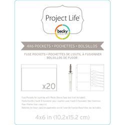 Project Life Photo Sleeve Fuse 4x6 inch (1 kus) - 2