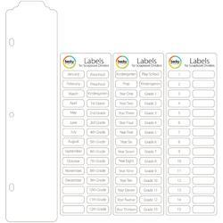 Project Life Scrapbook Dividers & Label Stickers 15 pkg - 2