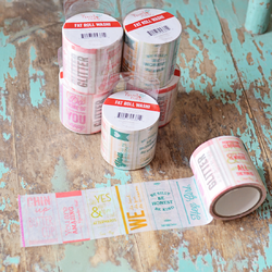 "Quote Me Fat Roll Washi Tape 2""x26' - 2"