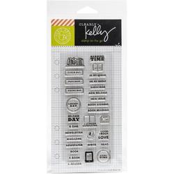 Reading Planner Clear Stamps - 2