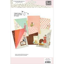 Reset Girl Double-Sided Dividers A5 6/Pkg - 2
